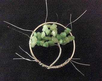 Tree of Life Pendants - Jade/Silver