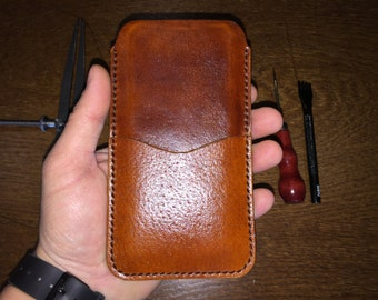 iPhone 6S, 6 - high quality leather case.