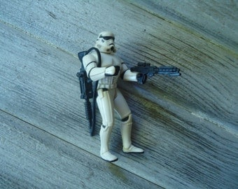 Vintage Stormtrooper toy - 1995 Star Wars toy - Vintage Stormtrooper - Action figure - Stormtrooper action figure - Star Wars toy -