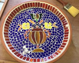 Mosaic Vase Platter