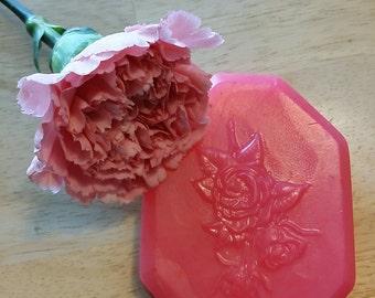 Pink Octagon Rose Bar