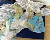 Private Listing for Tracey - DEPOSIT for 16 Custom Order Map Angels