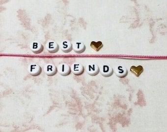 2 Best friend bracelets one for each person