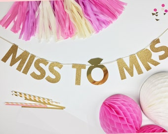 Bridal Shower Decorations | Bridal Shower | Bride To Be Party Banner
