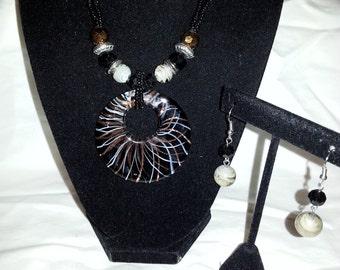 glass pendant set