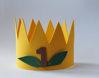 """Crown """"King of the Forest"""" birthday"""