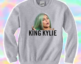 King Kylie Grey Sweater Jumper