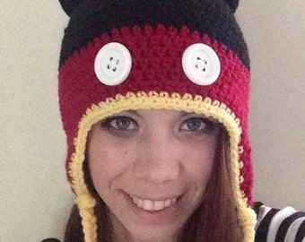 Mickey Mouse Inspired Beanie
