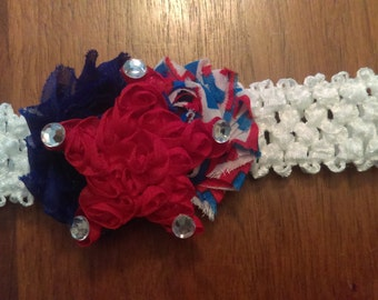 6-12 month 4th of July Headband