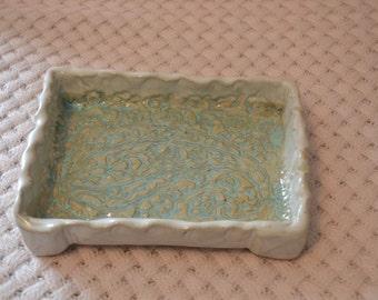 Rectangular Pottery Dish