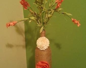 Coral decor vase