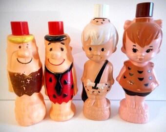 Vintage Flinstones Soaky Bottle Collection