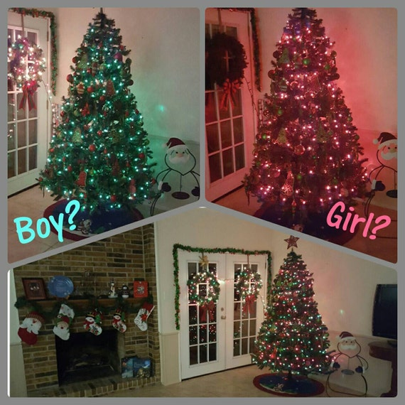 Outdoor Wedding Ideas: Holiday Tree Or Winter Party Gender Reveal Pack By