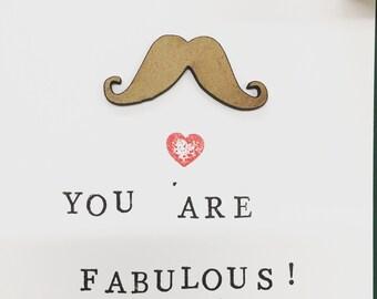 You Are Fabulous Handmade Card