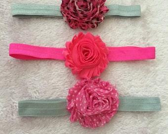 Handmade Flower Elastic Headband
