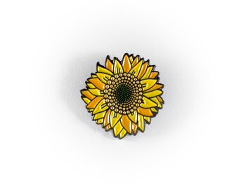 Reppin Sunflower Pin