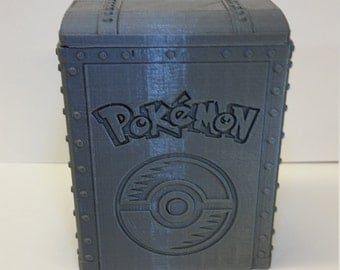 Pokemon-Inspired Deck Box- Large