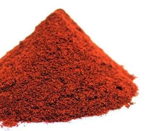 2 oz (56 grams) Ground Picquin Chili Pepper Powder, HOT SPICE Piquin Chiltepin MOLIDO