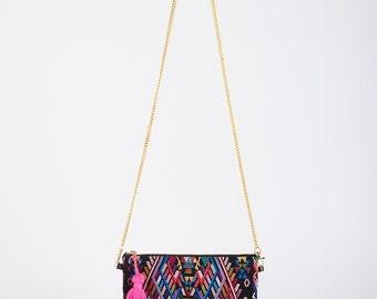 Boho Chic Bag/Ethnic Boho Bag/Boho Crossbody/Mexican Crossbody/Mexican Clutch/Handwoven Bag/Guatamalan/Huipil/Frida/Bohemian Bag/Boho Style