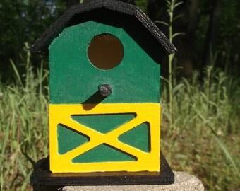 John Deere Barn Bird House