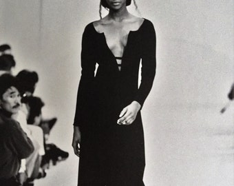 Rare Couture  Dress Pattern From Design Studio