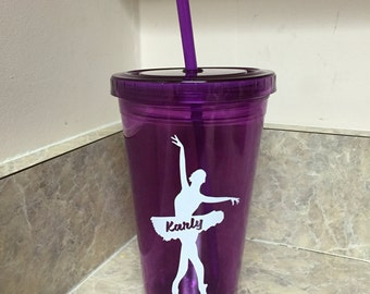 Personalized Ballerina Dancer Cup