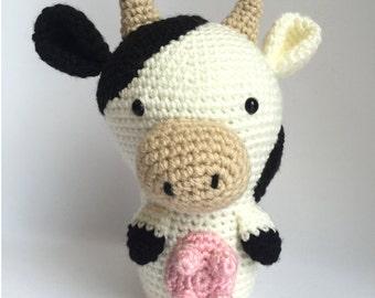 Amigurumi Crochet Patter : Baby Cow