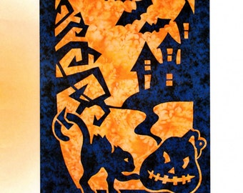 Halloween Applique Wall Hanging Pattern