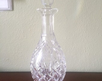 Waterford Crystal Decanter with Original Stopper