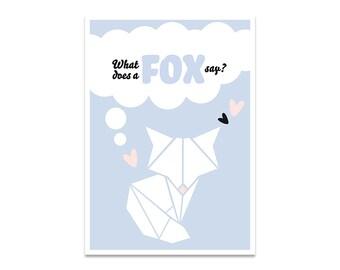Card A6 Fox