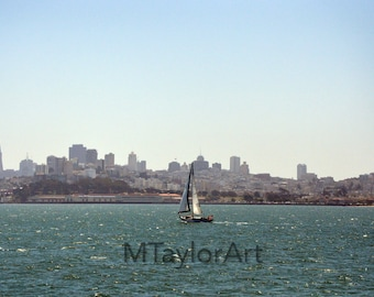 San Francisco, California Modern Art Photography Digital Download