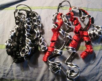 Harley Quinn Hair Tie Ribbons