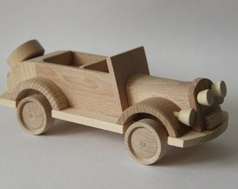 "Wooden toy car cabriolet  ""Pobeda"" ,children toy, eco friendly toy"