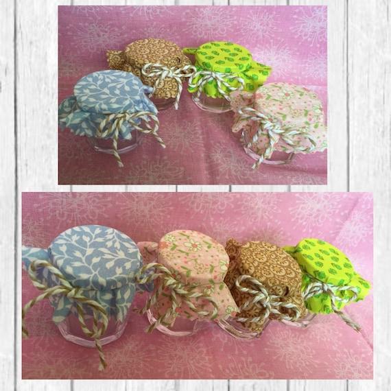 Modern Floral Mini Jam Jars Wedding Favors Shower Jar