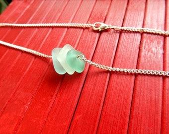 glassqua sea glass necklace
