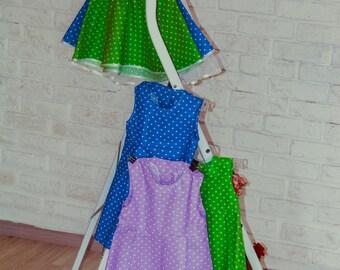 Summer dress for girls 100% cotton