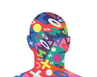 Looking at Chuck Close - Drawings by David Stoltz
