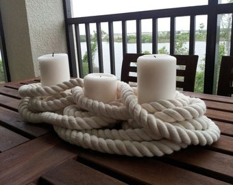 Nautical Candle Trio