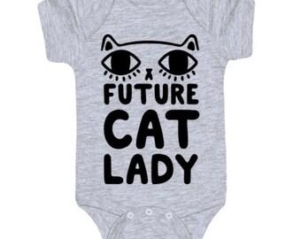 Future cat lady onsie