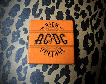 1980's AC/DC High Voltage collectors pin
