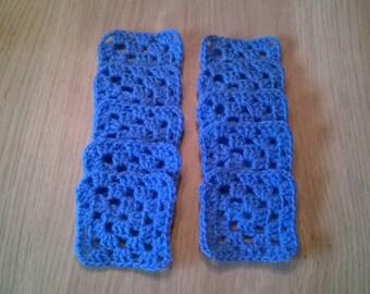Handmade crochet granny squares pack of 10