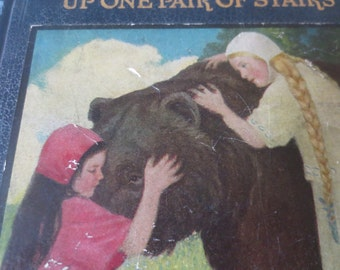 Antique Children's book 1920 Up One Pair of Stairs