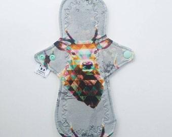 Geometric Stag Cloth Pad