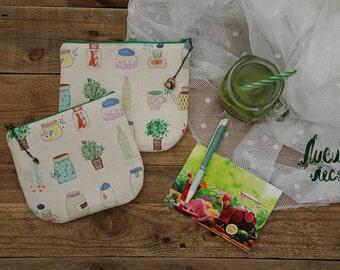 """Cosmetic bags """"Garden"""""""