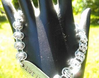 Live Life Orbital Bracelet