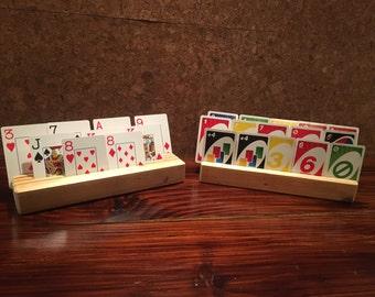Card holder,  kids playing card organizer