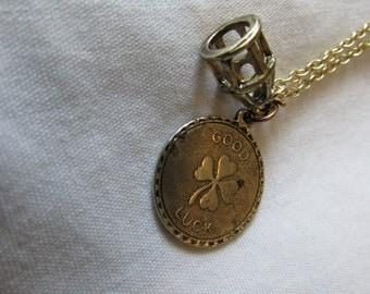 Vintage Lucky Birdcage Necklace