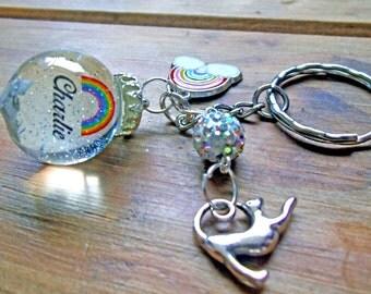 memorial pet ashes  resin pendant sphere necklace pendant
