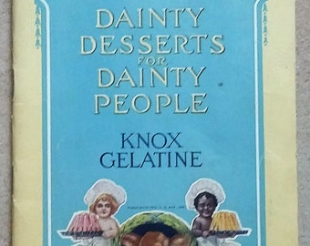 Dainty Desserts for Dainty People
