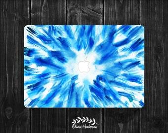 Watercolor Macbook Decal, Macbook Air Sticker, Peel and Stick, Vinyl Macbook Decal, Macbook Pro Decal, Macbook Air Decal OH017